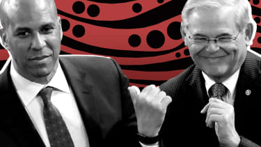 Cory Booker and Bob Menendez.