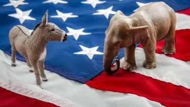 Republicans and Democrats.