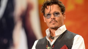 Johnny Depp attends the 'Lone Ranger' Japan Premiere at Roppongi Hills on July 17, 2013 in Tokyo, Japan.