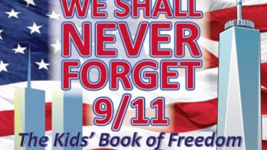 A children's coloring book that tries to explain the events of Sept. 11, 2001