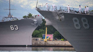 The U.S. commemorates the 74th anniversary of Pearl Harbor in 2015.