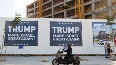Donald Trump tells Israel to cool it on the new settlements