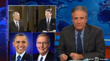 Jon Stewart puts the 2014 midterms in bittersweet context