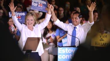 Clinton campaigned with Julian Castro in 2015.