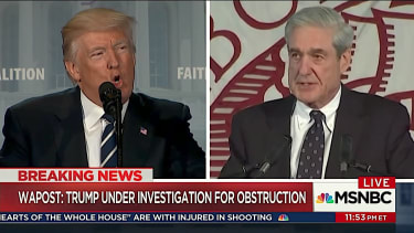 TV analysts weigh in on Trump obstruction of justice probe