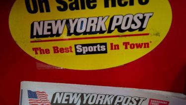 New York Post fail