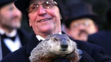 Blame the groundhog!