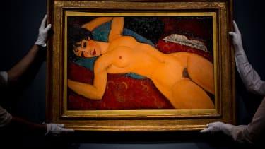 "Modigliani's ""Nu Couché."""