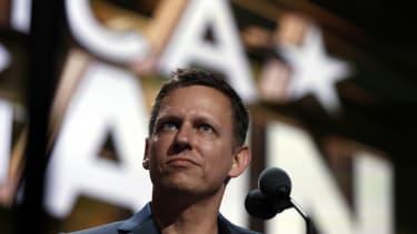Billionaire tech investor Peter Thiel.