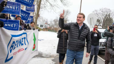 Michael Bennet in New Hampshire.