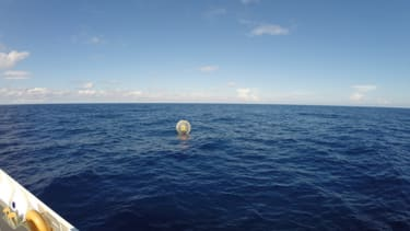 Coast Guard rescues man who tried to 'run' to Bermuda in giant inflatable bubble