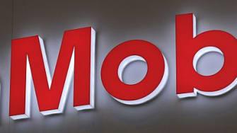 ExxonMobil sign.
