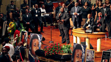 Obama administration sends 3 officials to Michael Brown's funeral, sent zero to Margaret Thatcher's