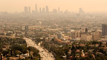 Los Angeles has America's worst air