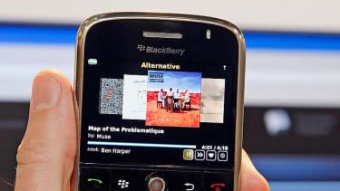 BlackBerry sales are dismal.