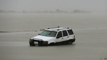 Hurricane Harvey batters Texas
