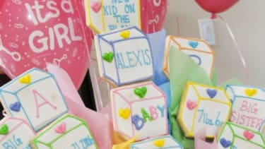 Parents-to-be are throwing parties to reveal their baby's sex to friends and family.