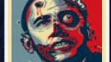 Tapping into the Halloween spirit, a local Virginia Republican committee sent out this Obama illustration only to offend Democrats and Republicans alike.