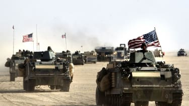 American forces in Iraq.