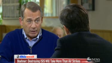 John Boehner: Obama may have 'no choice' but to deploy U.S. ground troops against ISIS