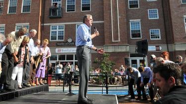Jeb Bush speaks in Iowa in June