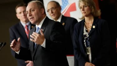 """Rep. Scalise says the GOP's plan is """"180 degrees"""" different from ObamaCare."""
