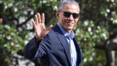 Barack Obama is staying out of the spotlight.