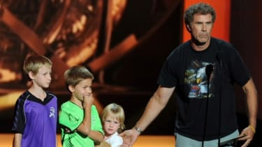 Will Ferrell and his kids