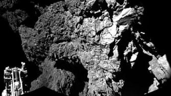Philae has detected organic molecules on comet