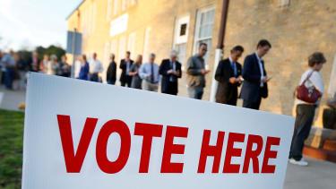 Voters in Texas.