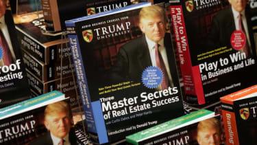 Trump University books.