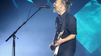 Radiohead releases a new album.