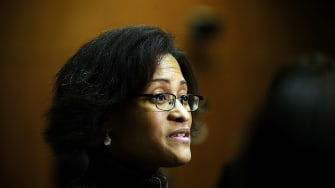Cheryl Mills, Hillary Clinton's chief of staff at the State Department