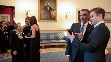 President Obama drops an 'N Sync reference, takes us back to 2000