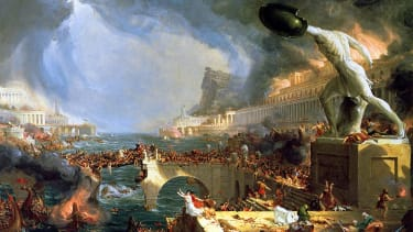 Destruction, 1836, by Thomas Cole, from his Course of Empire series.