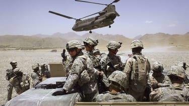 U.S. troops in Afghanistan in 2006.