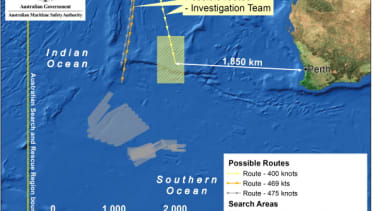 Forget all the debris sightings: The Malaysia Flight 370 search has shifted 700 miles north