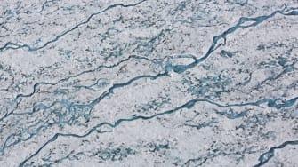 Arctic Ocean ice.