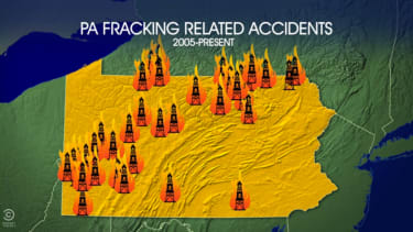 The Daily Show isn't so sure fracking is all that safe