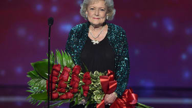 Television icon Betty White wins big at People's Choice Awards