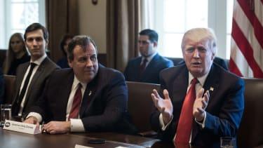 Chris Christie and Trump.