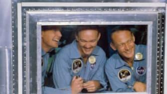Apollo 11 astronauts.