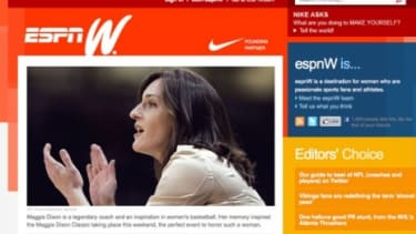 For now, espnW is an online venture, but it will reportedly expand into television.