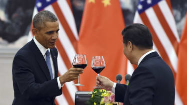 President Obama meets with Chinese President Xi Jinping