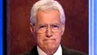 """""""Jeopardy!"""" host Alex Trebek"""