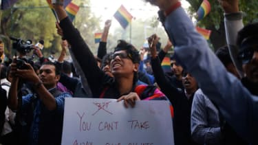 India LGBT protests