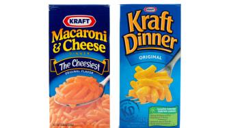 Kraft Macaroni & Cheese.