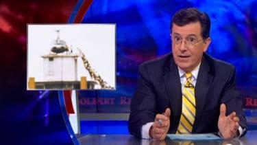 Stephen Colbert gets serious about Iraq, draws Vietnam analogies