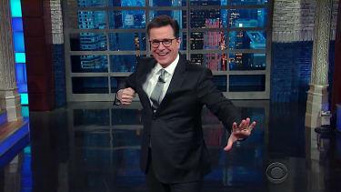 Stephen Colbert recaps Trump's reality TV SCOTUS unveiling