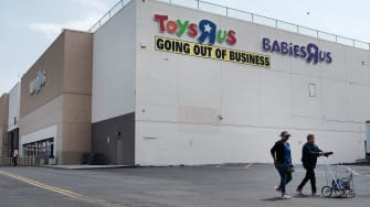 A Toys R Us store.